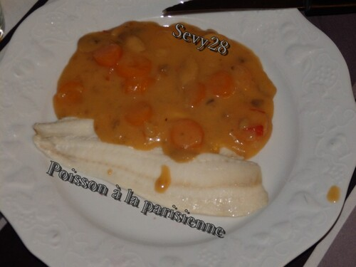 Poisson à la parisienne (thermomix)