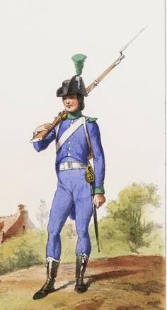Boismé, le curieux habillement de la cavalerie vendéenne....