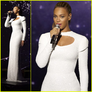 Beyonce Sings for World Humanitarian Day!