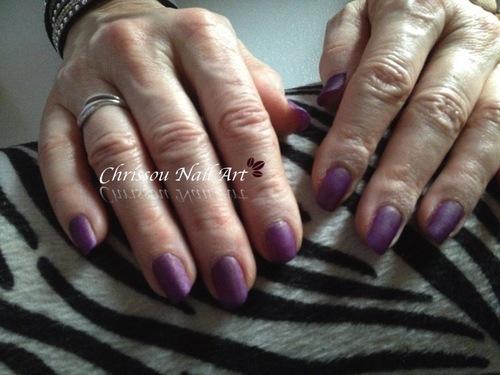 Bornpretty mat violet