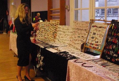 Exposition de mes bijoux country au bal de Rochecorbon