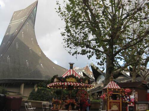 Rouen : église Jeanne d'Arc