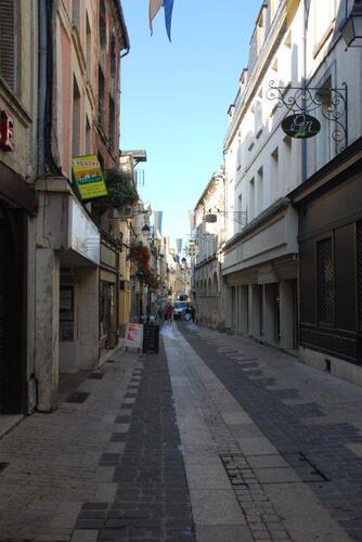 Un ruelle typique de la cité médiévale