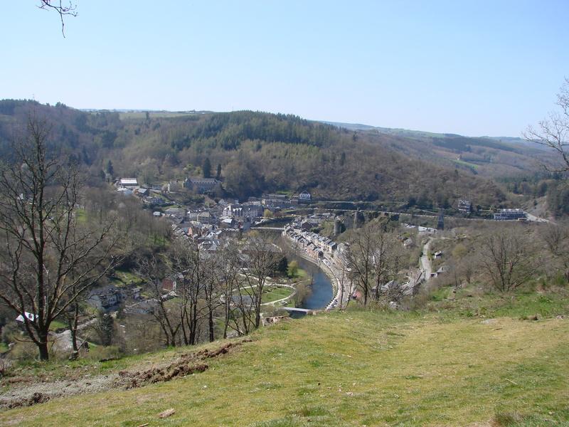 La Roche-en-Ardenne : le belvédère