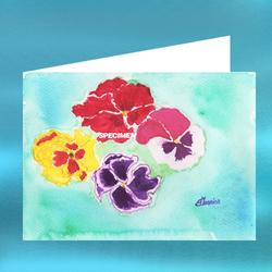 Carte postale n°120 : Pensées