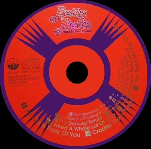 "Betty Davis : CD "" Crashin' From Passion "" P-Vine Records PCD-1993 [ JP ]"