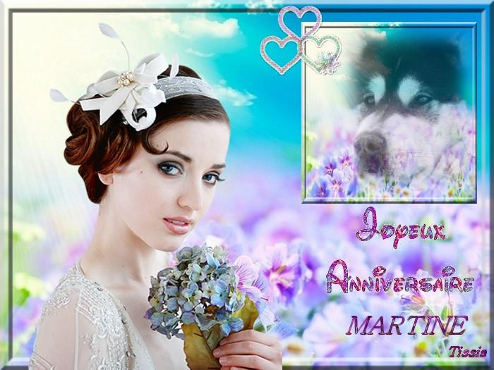 Bon Anniversaire Martine