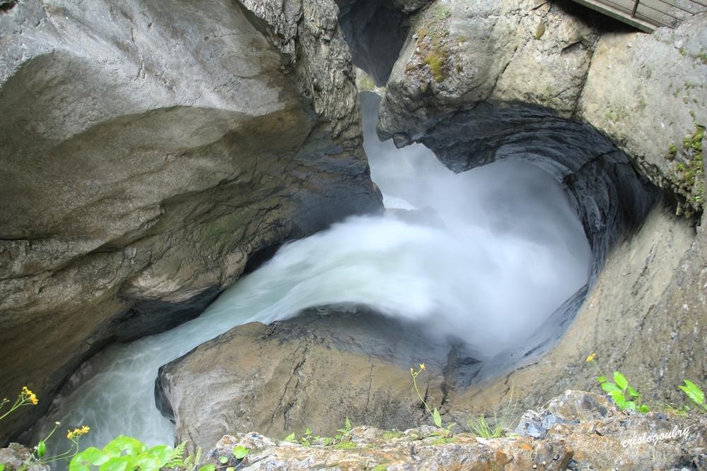 Cascades souteraines  du Trûmmelbach
