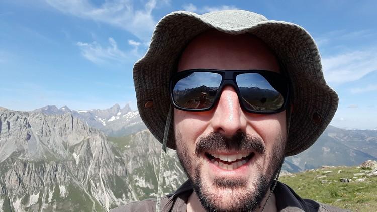 Selfie aux Aiguilles d'Arves