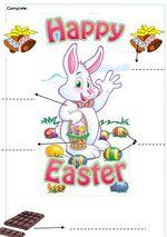 Exercices anglais  CP et CE1 sur Pâques