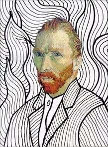 Van Gogh FREE Head Template: