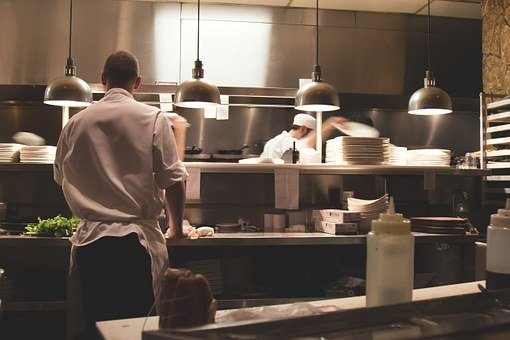 Cuisine, Travail, Restaurant