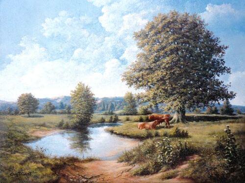Peinture de : Guy Thiant