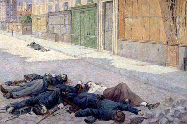 les morts de la Commune