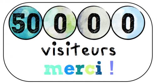 50 000 visiteurs !!!