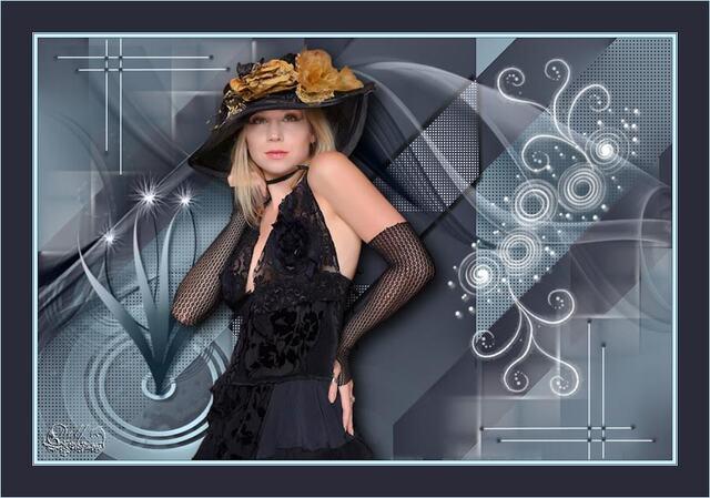 FAC0026 - Tube femme chapeau