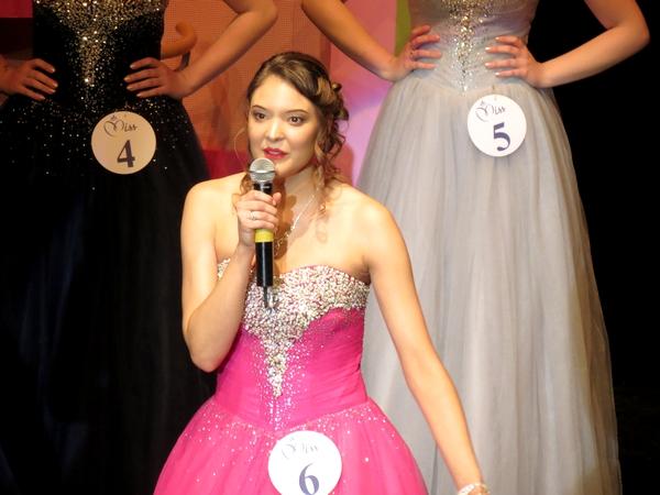 L'élection de  Miss Côte d'Or 2019 au théâtre Gaston Bernard de Châtillon sur Seine..
