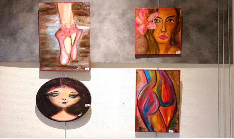 Quelques unes de mes toiles ...