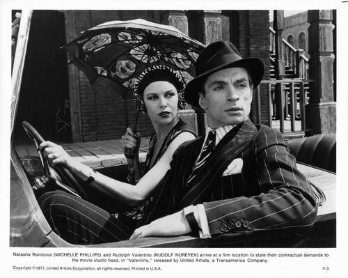 """Michelle Phillips pour """"Valentino''."""
