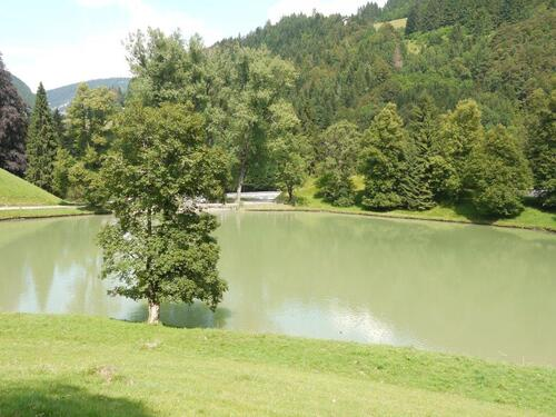 Le petit lac de montgne