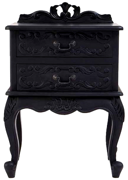 tube petit meuble noir. Black Bedroom Furniture Sets. Home Design Ideas