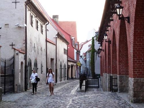 Riga: le quartier dit des Suédois