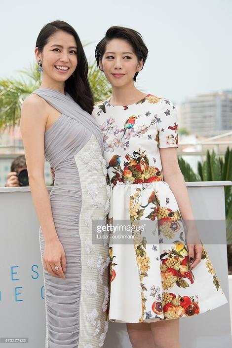 Models Collection : ( [Getty Images] - |2015.05.14| Umimachi Diary - The 68th Annual Cannes Film Festival / Hirokazu Kore-Eda, Haruka Ayase, Masami Nagasawa, Kaho & Suzu Hirose )