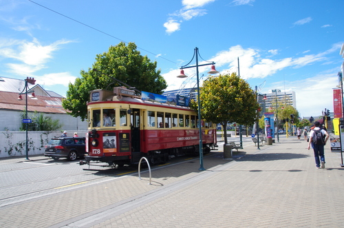 Jour 5 - d'Hanmer Spring à Akaro, Christchurch