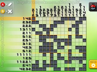 Flambusard Pokémon Picross