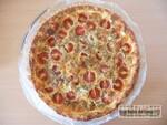 Tarte fondante tomate mozza'