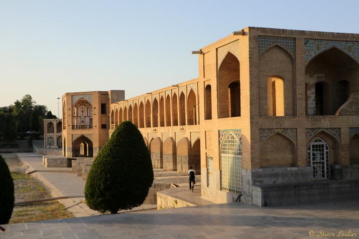 Le pont Khâdju, Pol-e Khâdju, Ispahan