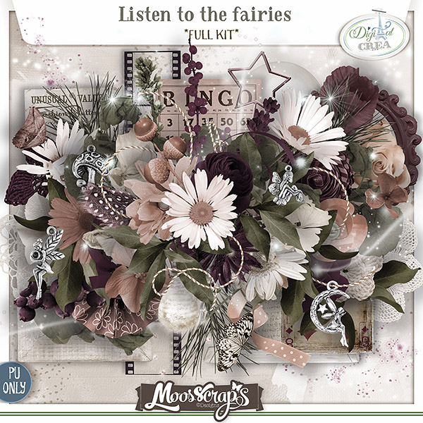 Listen to the fairies - full kit