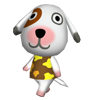 Nonos animal crossing WII