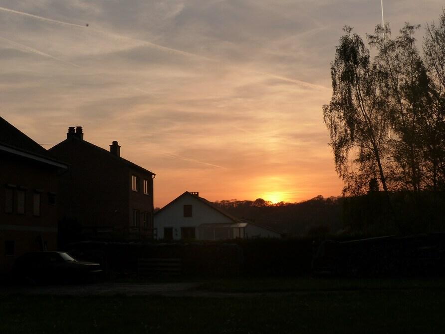 Couchés de soleil sur Bomal
