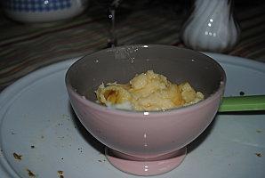 Gâteau de semoule au sirop d'érable