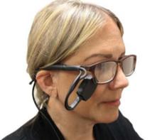 Eye blink switch : contacteur au clignement de paupières