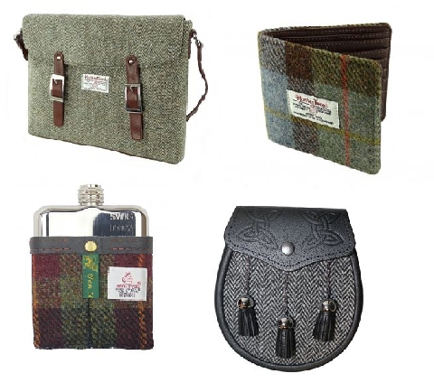 Idées de cadeaux en Harris Tweed