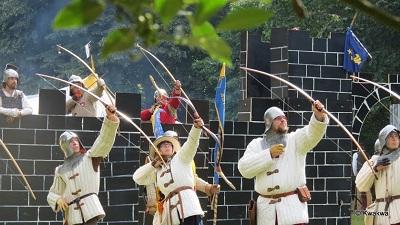 2e campement médiéval - 26 & 27 juillet 2014 - Parc d'Enghien