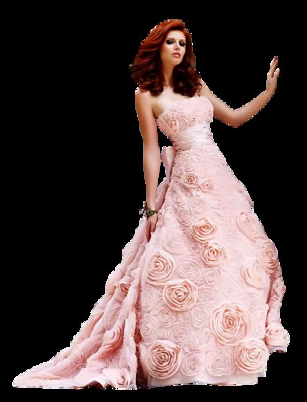 Femme en robe de soirée 3