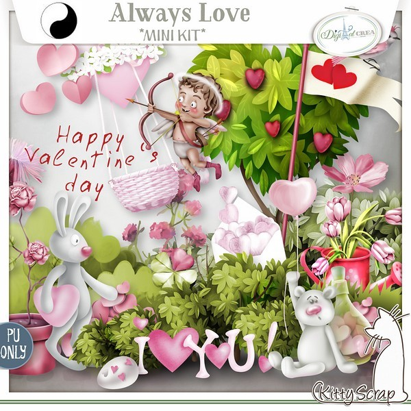 ALWAYS LOVE by Kitty Scrap