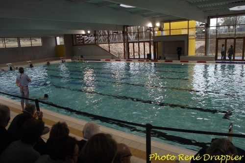 L 39 inauguration de la nouvelle piscine de ch tillon sur for Chatillon piscine