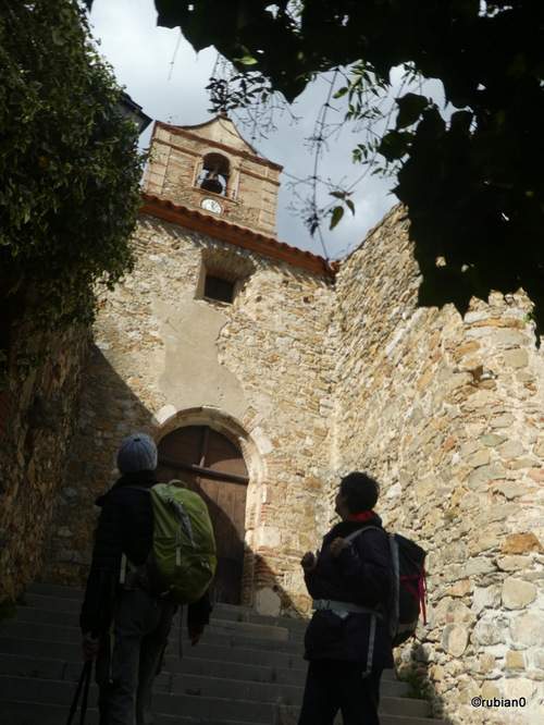 L'église de Vingrau