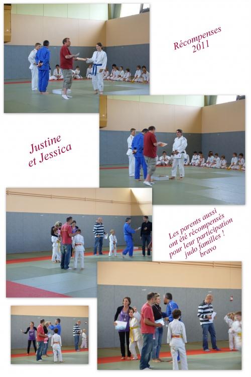 Récompenses 2011 - Fête du judo