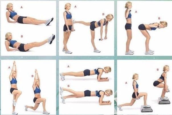 Какие упражнения дома делать от целлюлита