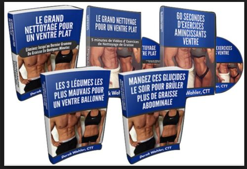 Le Grand Nettoyage Pour Un Ventre Plat avis pdf gratuit derek wahler