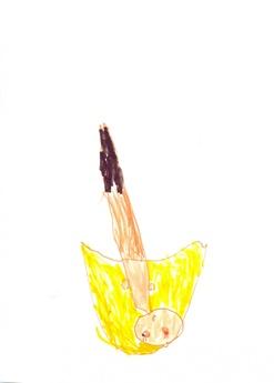 dessin de Roz en maternelle