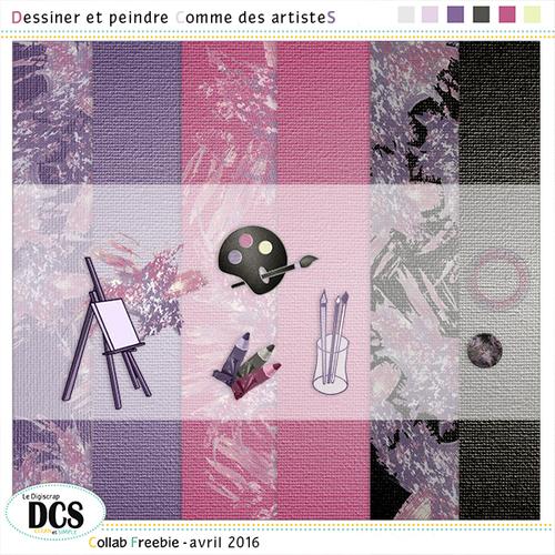 DCS: Dessiner et peindre Comme des artisteS