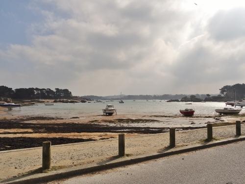 Trégastel sur la côte de Granit Rose en Bretagne (photos)