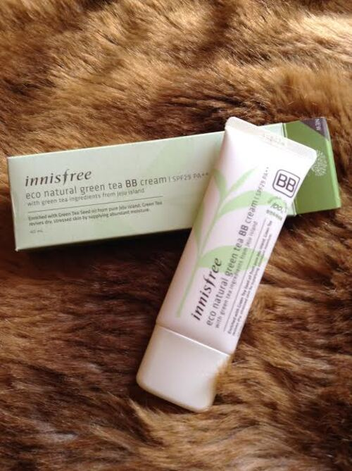 Eco Natural Grean Tea BB Cream d'Innisfree, une BB sans silicones