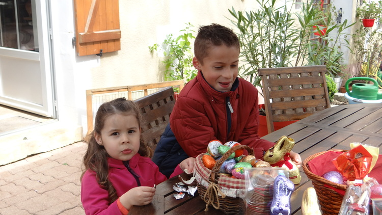 Dimanche de Pâques en Famille